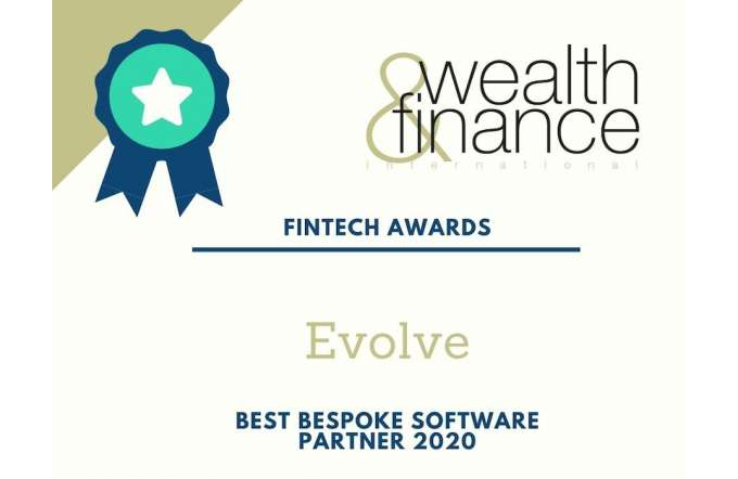 fintech awards 2020 evolve