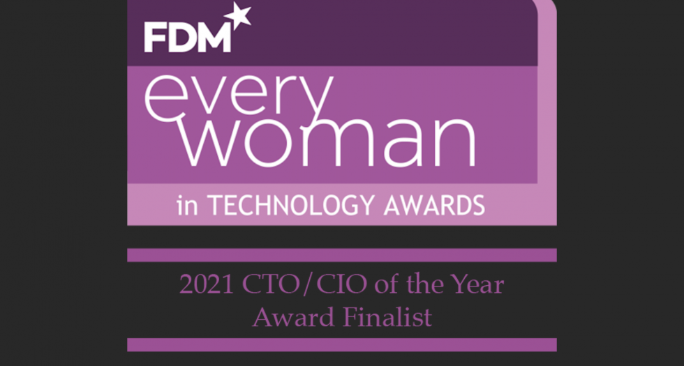 Colette Wyatt is a finalist of CTO/CIO 2021 of FDM everywoman in technology awards